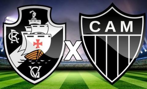 Vasco e Atlético-MG se enfrentam pelo Campeonato Brasileiro