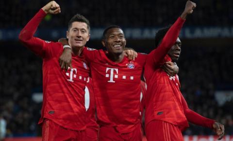 Bayern de Munique é o clube com maior eficiência dentre as grandes ligas europeias