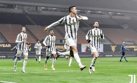 Juventus derrota a Inter de Milão e leva vantagem para segundo jogo