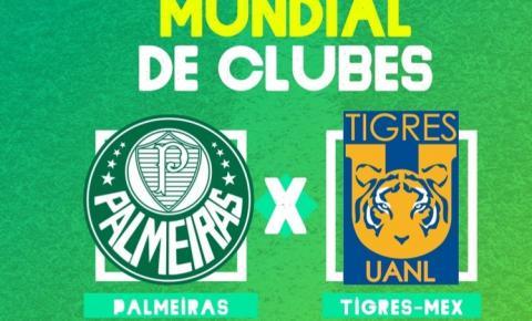 Palmeiras e Tigres-Mex se enfrentam por uma vaga na final do Mundial Interclubes da FIFA