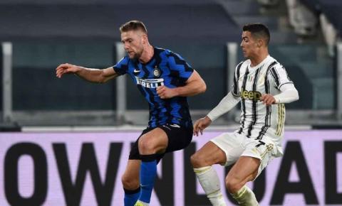 Juventus segura a Inter de Milão e avança à final da Copa da Itália