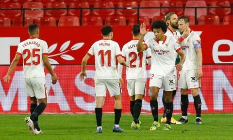 Sevilla abre vantagem sobre Barcelona pelo primeiro jogo da semifinal da Copa do Rei