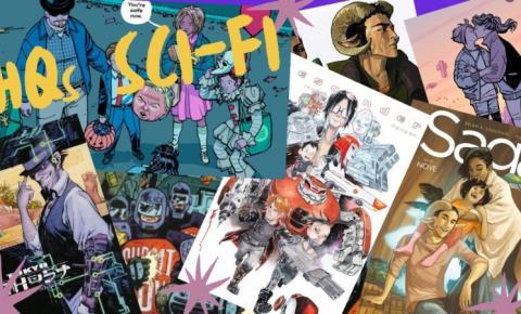 7 quadrinhos Sci-Fi para quem quer deixar de lado as histórias de super-heróis