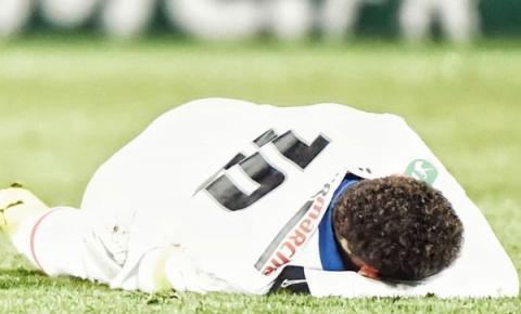 Neymar se lesiona em partida contra Caen na Copa da França