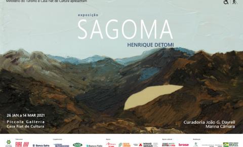 Casa Fiat de cultura abre programação de 2021 com SAGOMA