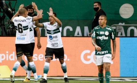 Coritiba recebe o Palmeiras buscando vitória
