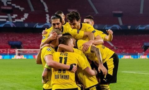 Borussia vence o Sevilla na Espanha com show de Haaland