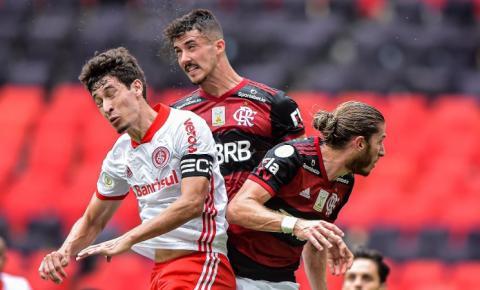 Inter perde para o Flamengo em confronto direto pela liderança do campeonato