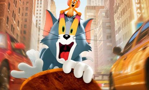 Clássico 'Tom & Jerry: O Filme' lidera a bilheteria nacional em uma mistura de live-action com 2D