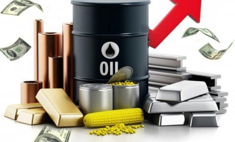 O aumento nos preços das commodities