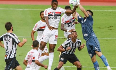 São Paulo recebe o Santos de olho em sequência positiva
