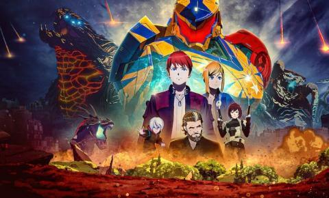 Círculo de Fogo: The Black | Anime chega na Netflix em clima de fim do mundo