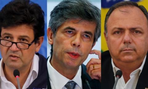 Quatro ministros e uma pandemia
