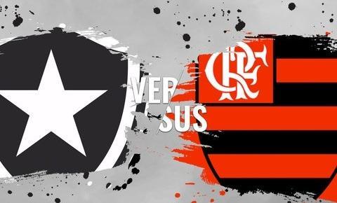 Botafogo e Flamengo se enfrentam pelo Campeonato Carioca