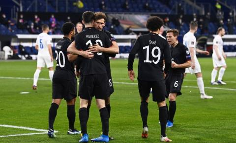 Alemanha consegue o primeiro triunfo em 2021 diante da Islândia