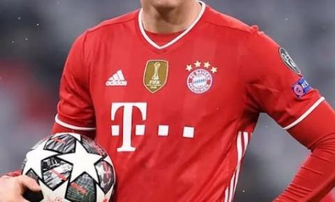Robert Lewandowski lesiona o joelho e está fora das quartas da Champions League
