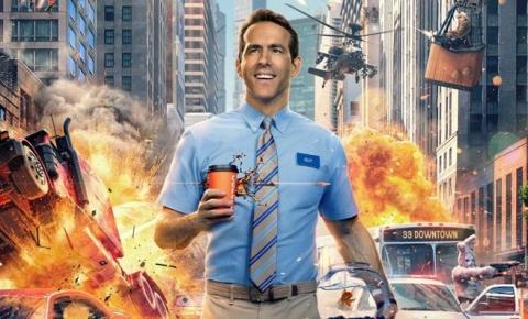 "Ryan Reynolds ""zoa"" a nova data de estreia de Free Guy."