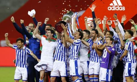Após 34 anos, Real Sociedad vence a Copa do Rei 2020 em cima de seu maior rival