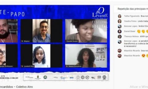 Teatro híbrido: a arte em videoconferência