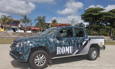 ROMU nas ruas de Búzios: o novo grupamento faz parte da Guarda Municipal