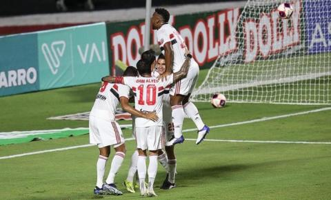 Com gol contra, São Paulo vence o Red Bull Bragantino pelo Campeonato Paulista