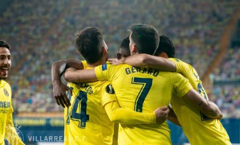 Villareal toma susto, mas sai na frente pela semi da Liga Europa