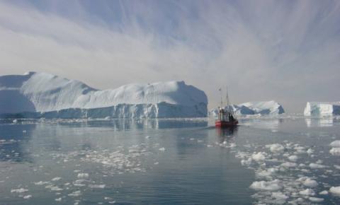 Groenlândia e o efeito do aquecimento global