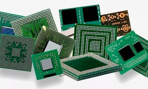 Crise no mercado mundial de chips semicondutores.