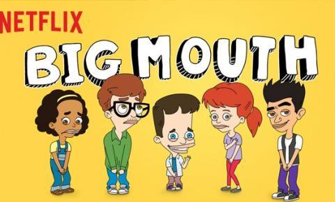 Big Mouth e sua relevância para os jovens e adultos