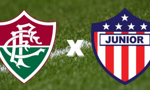 Fluminense e Junior Barranquilla se enfrentam pela Libertadores