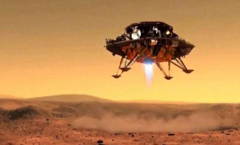 Nave chinesa pousa em Marte 24 dias depois dos Estados Unidos produzir oxigénio no planeta vermelho