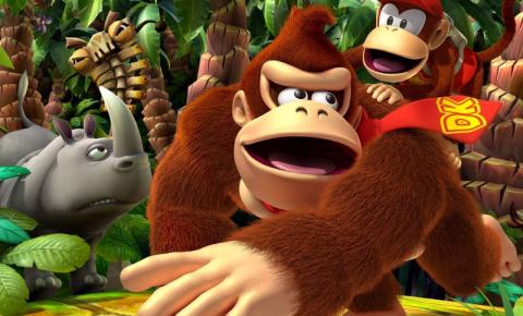 Donkey Kong está chegando com um novo jogo