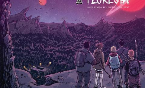 """Monstros alienígenas e muito suspense, HQ """"A Floresta"""" é um sci-fi pra fã nenhum colocar defeito"""
