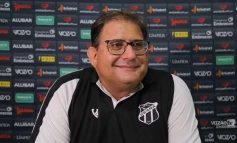 Guto Ferreira quebra recorde de permanência a frente do Ceará no século