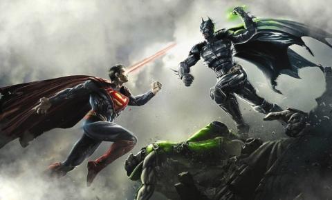 Injustice   História da DC vai ganhar filme animado