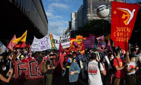 MUNDO REAL E VIRTUAL UNIDOS NOS PROTESTOS CONTRA O GOVERNO BOLSONARO