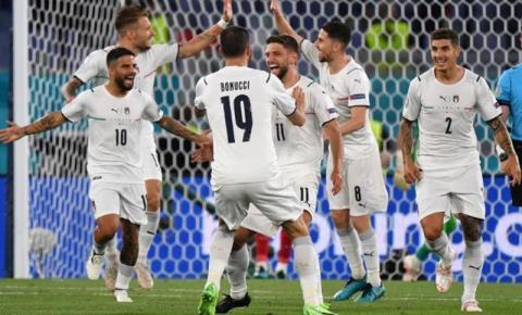 Itália domina e vence a Turquia na abertura da Eurocopa 2020