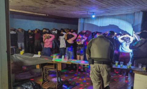 O crescimento da pandemia e as festas clandestinas em todo o país acendem o alerta