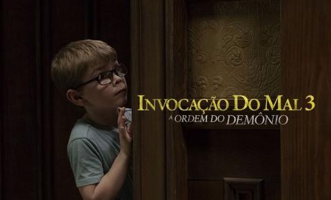 Invocação do Mal 3 se torna o filme de melhor estreia no Brasil desde a reabertura dos cinemas