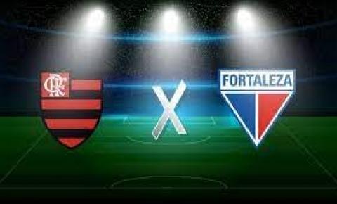 Flamengo e Fortaleza se enfrentam pelo Campeonato Brasileiro