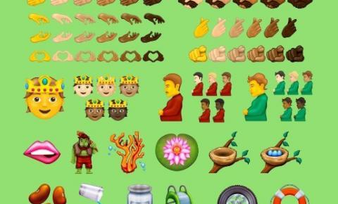 Novos emojis são anunciados para 2022