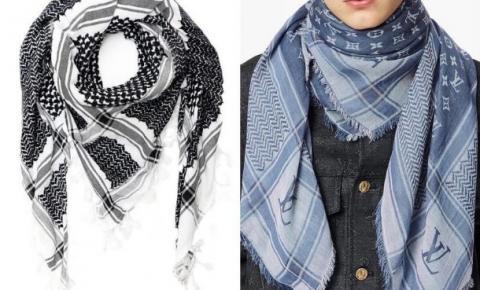 Entenda a apropriação cultural do lenço palestino Keffiyeh por parte da Fendi e Louis Vuitton