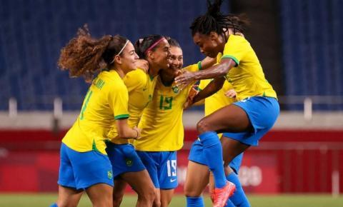 Andressa Alves marca, e Brasil vence Zâmbia no futebol feminino