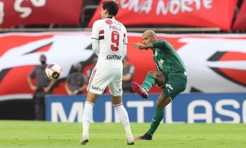 São Paulo e Palmeiras se enfrentam pela quarta vez na temporada