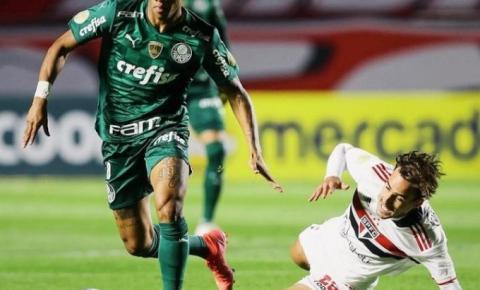 Var anula pênalti e gol no empate entre São Paulo e Palmeiras