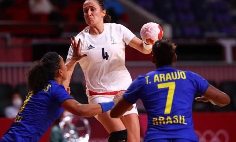 Brasil perde para a França no handebol feminino e se despede das Olimpiadas