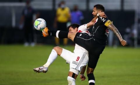 Em vantagem, São Paulo visita o Vasco pela Copa do Brasil