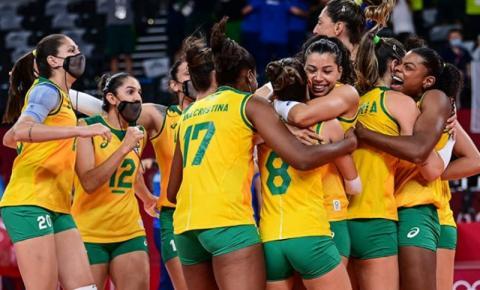 De virada, Brasil derrota o Comitê Olímpico Russo e avança para a semifinal