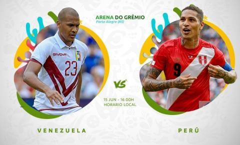 Motivados para surpreender, Venezuela estreia na Copa América diante do Peru