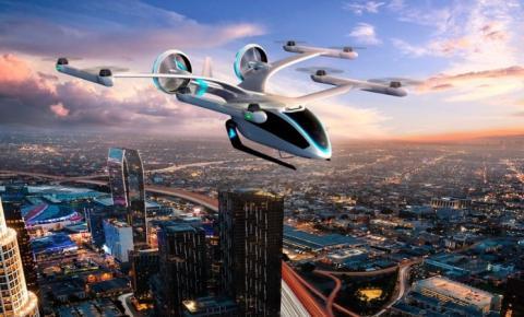 """Empresas brasileiras anunciam acordos para compra e fabricação de eVTOLs, os """"carros voadores"""""""